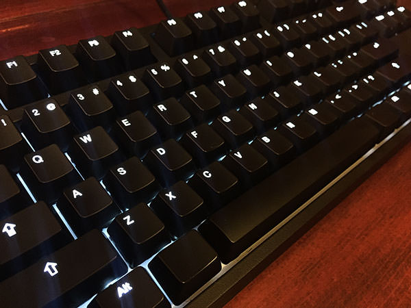 The CODE Keyboard with Cherry MX Green switches